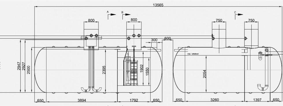 Aquality Technical Drawing