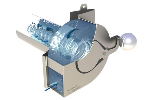 Vortex flow control
