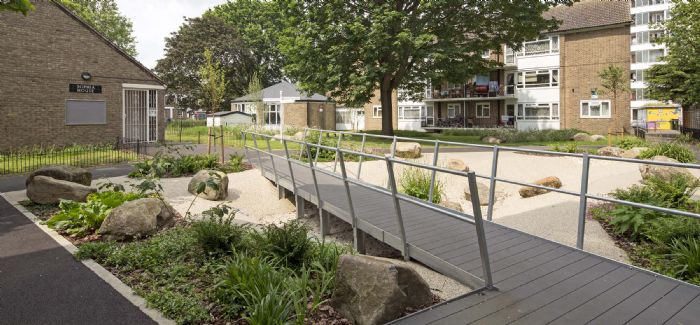 Thames to help fund £60M green surface water management schemes